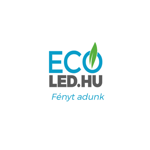 8W LED Mennyezeti lámpatest ovális fekete IP65 3000K - 1267