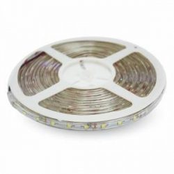 V-TAC LED szalag 3528- 60 LED meleg fehér /vízálló/ 2032