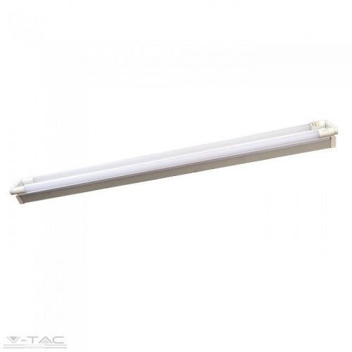 Fénycső armatúra 2*150 cm 22W LED fénycsővel (Samsung chip, 6400K) - 6441