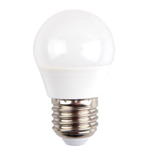 5,5W V-TAC PRO LED izzó E27 kisgömb G45 6400K hideg fehér 5 év garancia
