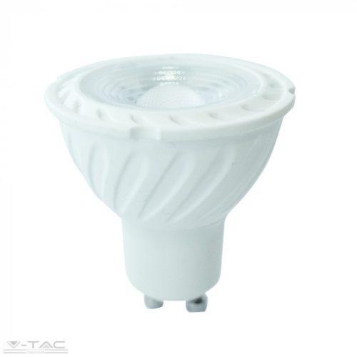 6,5W LED spotlámpa GU10 lencsés 110° 3000K 5 év garancia V-TAC