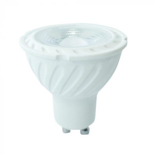 6,5W LED spotlámpa GU10 lencsés 110° 4000K 5 év garancia V-TAC
