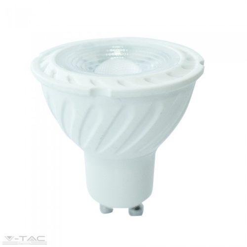 6,5W LED dimm spotlámpa GU10 lencsés 110° 4000K 5 év garancia V-TAC