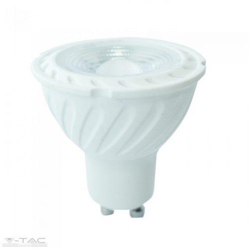 6,5W LED dimm spotlámpa GU10 lencsés 110° 6400K 5 év garancia V-TAC