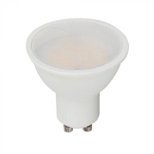 5W LED spotlámpa GU10 lencsés 110° 3000K 5 év garancia V-TAC