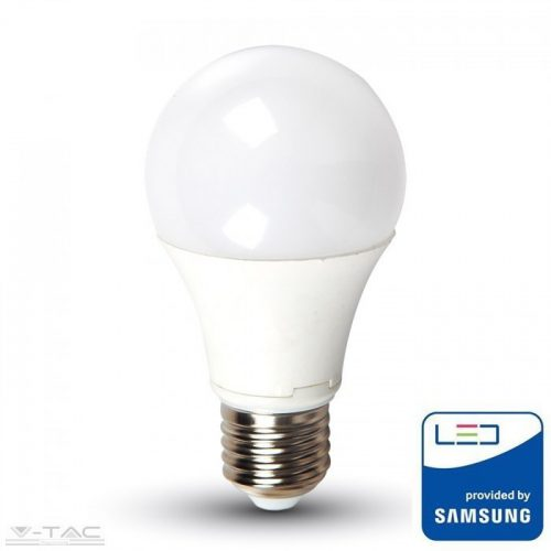9W LED izzó Samsung chip E27 A60 6400K 5 év garancia - PRO230