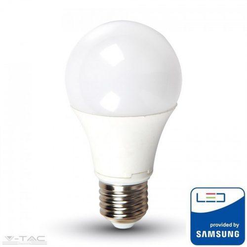 11W LED izzó Samsung chip E27 A60 6400K 5 év garancia - PRO233