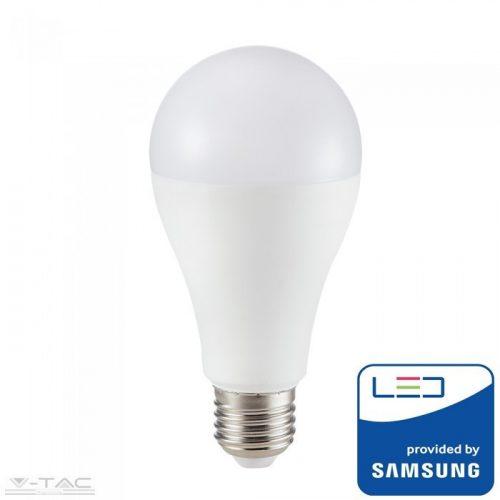12W LED izzó Samsung chip E27 A65 6400K A++ 5 év garancia - PRO251