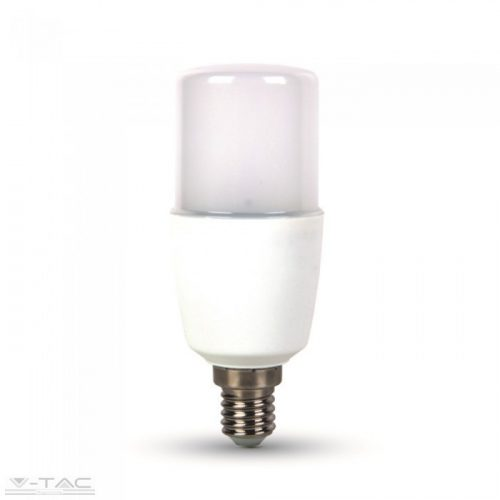 8W LED izzó E14 T37 Samsung chip 3000K