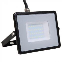 30W LED reflektor Samsung Chip Fekete 4000K V-TAC