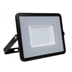 50W LED reflektor Samsung Chip Fekete 6400K V-TAC