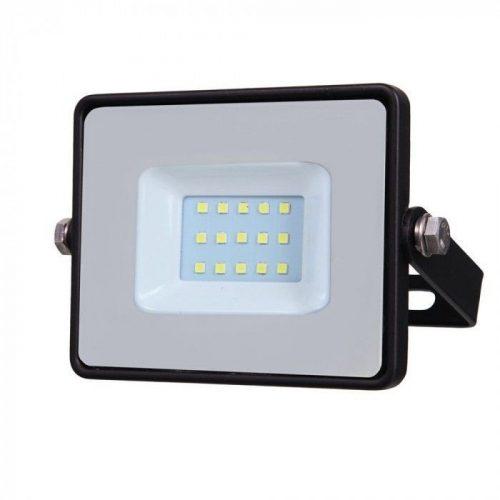 10W LED reflektor Samsung Chip Fekete 6400K V-TAC