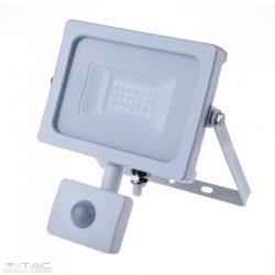 20W Mozgásérzékelős LED reflektor fehér IP65 3000K - PRO448