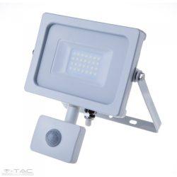 20W Mozgásérzékelős LED reflektor fehér IP65 6400K - PRO450