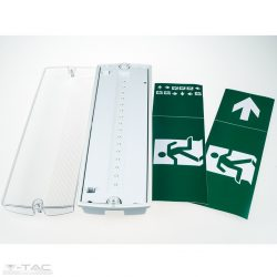 3W LED vészvilágítás Samsung chip IP65 Hideg fehér - PRO837 - V-TAC
