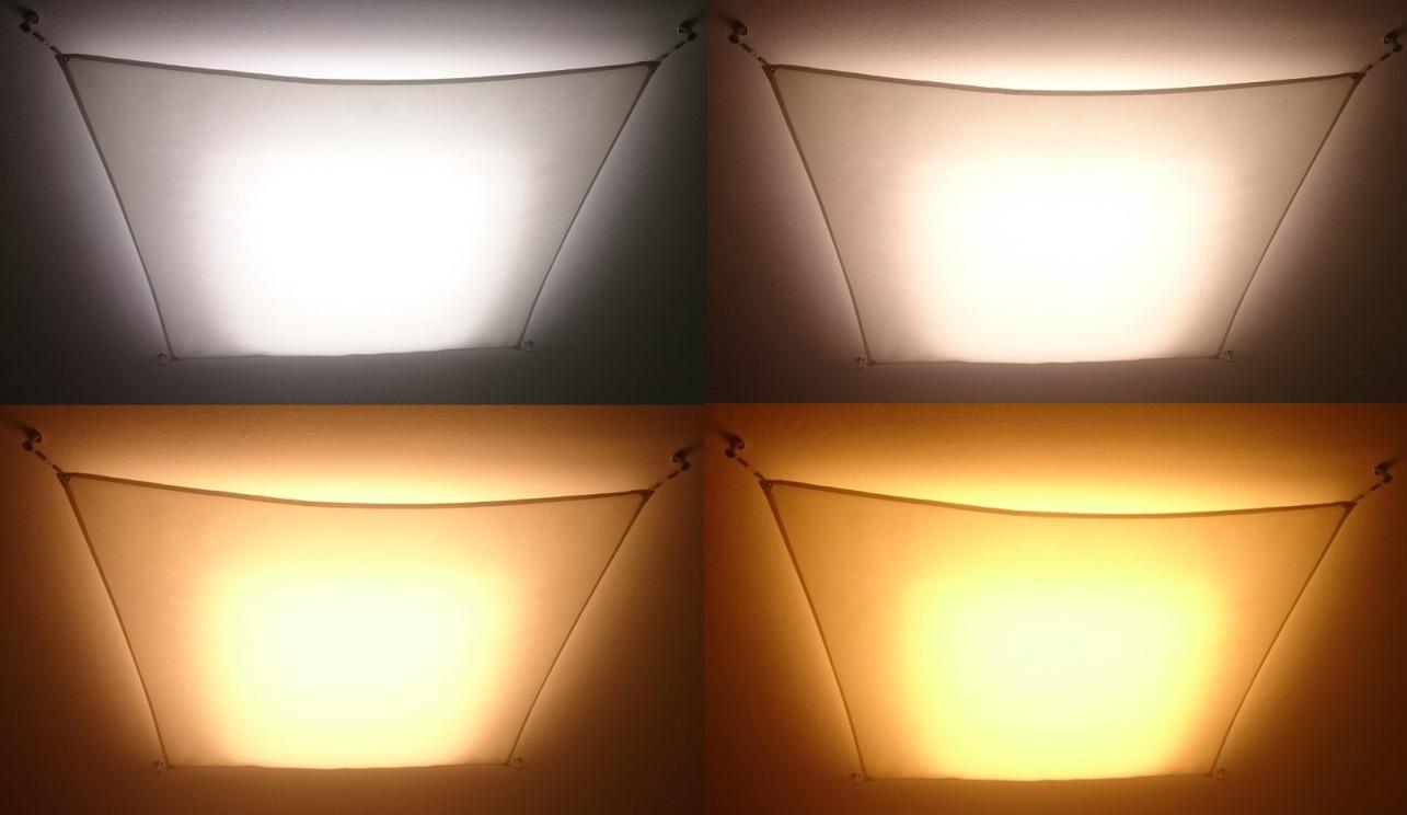 Led színhőmérséklet illusztráció